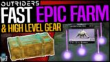 Outriders – EASY EPIC GEAR FARM – HIGH LEVEL ARMOR & WEAPONS FARM – How To Get Epics FAST – Guide