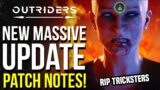 Outriders Gets It's BIGGEST UPDATE YET! Full Class Rebalance, Loot Exploit Fix & Full Patch Notes