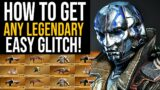 """Outriders HOW TO GET ANY LEGENDARY """"GLITCH"""" – Outriders How To Get All Legendary Gear"""