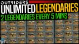 Outriders: How To Get UNLIMITED LEGENDARIES – 2 Legendaries Every 5 Minutes GUARANTEED (DO THIS NOW)