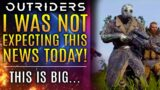 Outriders – I Was NOT Expecting This News Today!  This is BIG For the Franchise!  Brand New Updates!