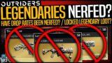 Outriders: LEGENDARY LOOT NERF? Have Drop Rates Been Nerfed? – Is Loot Locked Behind Expeditions?