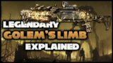 "Outriders | Legendary ""Golem's Limb"" Showcase | Legendary Shotgun"