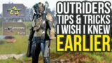 Outriders Tips And Tricks I Wish I Knew Earlier – Auto Loot, Crafting, Combat & More