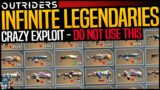 Outriders: UNLIMITED LEGENDARIES EXPLOIT – WHY YOU SHOULD NOT DO THIS !!