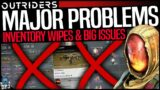 Outriders: WTF – INVENTORIES WIPED & MAJOR PROBLEMS AFTER LATEST PATCH