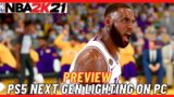 PREVIEW PS5 NEXT GEN LIGHTING ON PC / NBA 2K21 ULTRA MODDED