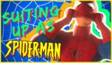Peter Parker Suiting Up In Spider-Man Video Games
