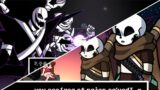 Sans and Gaster in Friday Night Funkin! – The X Event Hard Mode Full Week + Cutscenes
