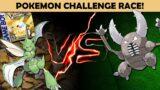 Scyther vs Pinsir – Pokemon Challenge Race