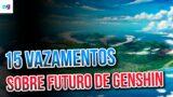 Sobre INAZUMA, Ilhas, Kazuha, Arconte Electro e mais…   Genshin Impact