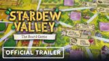 Stardew Valley: The Board Game – Official Announcement Trailer