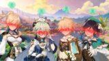 The Anemo Dream Team – Genshin Impact