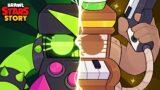 The Origin story of Saloon 8 bit | Brawl stars story videos #9