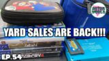 The RETURN of YARD SALES | Live Video Game Hunting Ep. 54