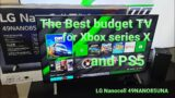 The best Budget TV for Xbox series X/S and PS5