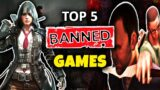 Top 5 Video Games *BANNED* in Countries For Violence Or Nudity