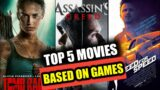 Top 5 movies based on video games| Game movies in hindi| Movies based on Video Games| Prime King