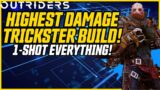 UPDATED POST NERF! Best Trickster Build! Solo All Endgame! // Outriders CT 15 Level 30 Trickster