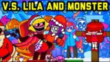V.S. Lila and Lemon Demon – Friday Night Funkin' Mods