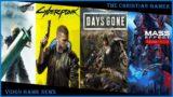 Video Game news Regarding FF7 Remake, Cyberpunk 2077, Days Gone 2 and Mass Effect Legendary Edition