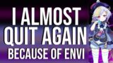 Why Enviosity Almost Made me Quit Genshin Impact AGAIN