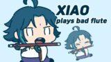 Xiao plays bad flute – GENSHIN IMPACT