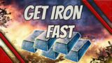 outriders how to get iron fast