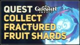 Collect Fractured Fruit Shards Genshin Impact