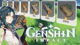 A very normal wood farming guide (Genshin Impact)