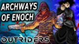 Archways of Enoch vs Toxic Technomancer| Outriders Archways of Enoch Expedition Full Run CT5