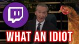 Bill Maher Thinks Watching Video Games Is A Waste Of Time