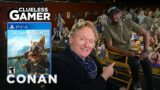 """Clueless Gamer: """"Biomutant"""" With JB Smoove – CONAN on TBS"""