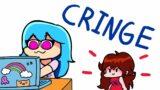 Cringe (FNF Animation) Sky / bfswifeforever