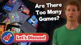(Discussion) Are There Too Many Retro Video Games to Choose From? – Retro Bird