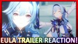 Eula Character Demo Reaction! She's a Dancer and Super Pretty! | Genshin Impact