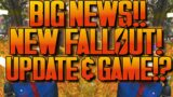 FALLOUT 76 *BIG NEWS!*   NEW FALLOUT GAME!?   MASSIVE UPDATE!   NEW BETHESDA GAME!   MORE CONTENT!