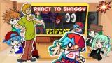 Fnf react to Shaggy Mod | Friday Night Funkin'