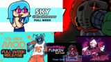 Friday Night Funkin – FNF Mod Sky, Tricky, Hex, CG5, Whitty, Sarvente, Miku, FNF but bad and MORE!!!