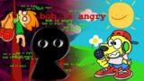 Friday Night Funkin but BOB HAS AWOKEN… FNF Mods #9