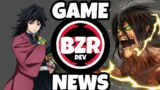 GAME NEWS   Where's Demon Slayer? AOT Fangame release?