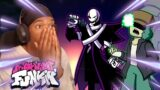 GASTER AND GARCELLO ARE INSANE!!! (Friday Night Funkin X Event Mod, Smoke Em' Out Struggle)