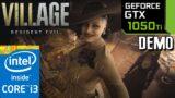 GTX 1050 ti | Resident Evil Village DEMO | 1080p 720p | i3 10100f | PC Performance