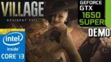 GTX 1650 SUPER   Resident Evil Village DEMO   1080p   i3 10100f   PC Performance