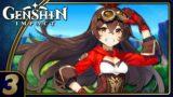 Genshin Impact | The Crimson King!? | Part 3 (PC, Let's Play, Blind)