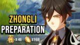 Get Everything You Need For Zhongli   Genshin Impact