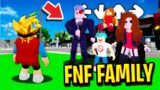I Got ADOPTED by FRIDAY NIGHT FUNKIN Family in Roblox BROOKHAVEN RP!!