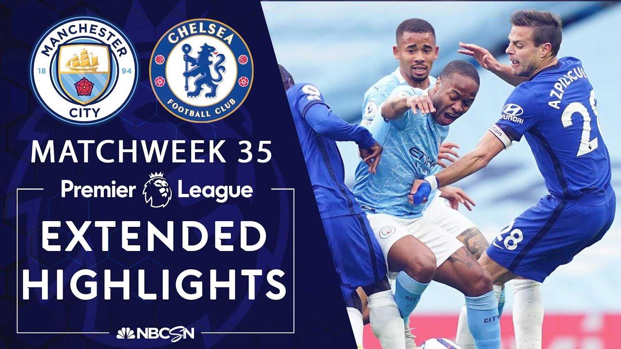 Manchester City v. Chelsea | PREMIER LEAGUE HIGHLIGHTS | 5 ...
