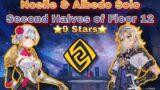 Noelle & Albedo Solo Second Halves of Floor 12 – Genshin Impact