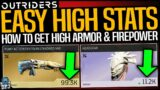 Outriders: DO THIS NOW! – How To Get HIGH FIREPOWER & ARMOR LEGENDARY LOOT EASY!! Full Guide